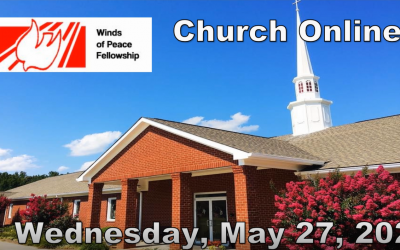 WOP Church Online | Wednesday May 27 2020