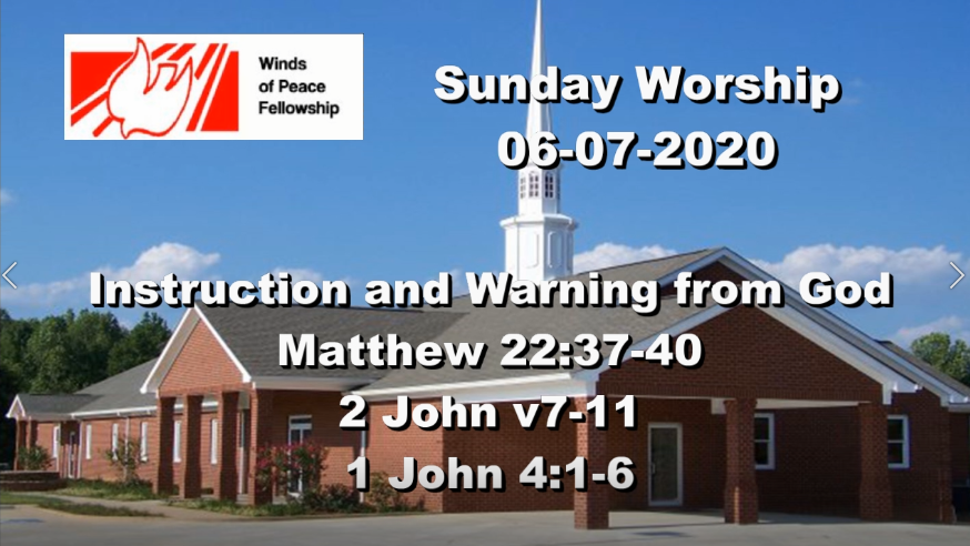 A Warning From God | WOP Church Online