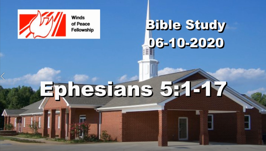 Ephesians 5:1-17 | Bible Study | WOP Church Online