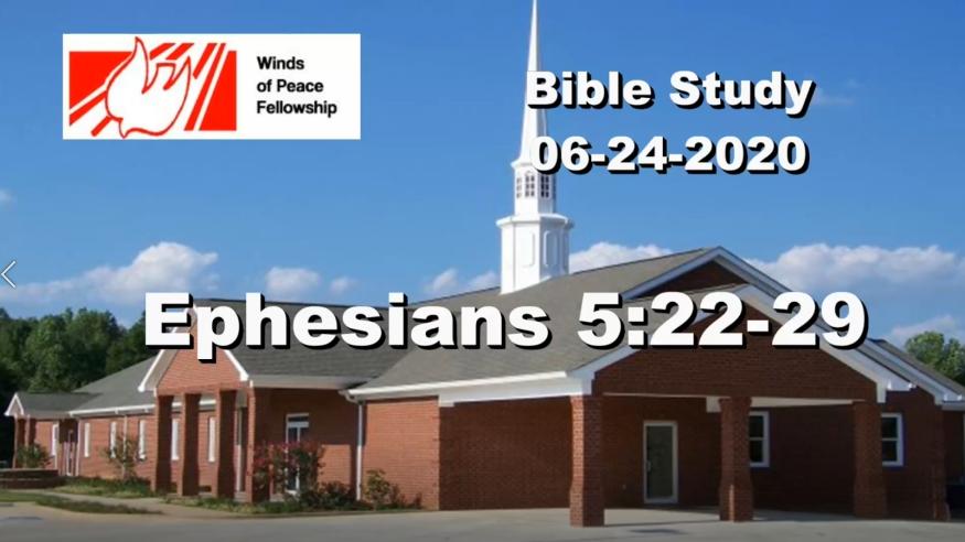 Ephesians 5:22-29 | Bible Study | WOP Church Online