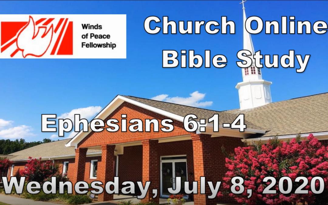 Ephesians 6:10-20  Bible Study | WOP Church Online